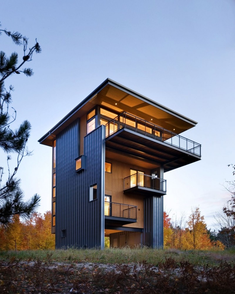 Glen Lake Tower / Balance Associates, Architects