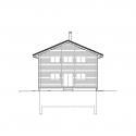 House in Reckingen / Roman Hutter Architektur Elevation