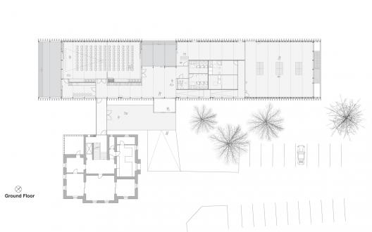 Community centre beer architektur st dtebau archdaily - Architektur plan ...