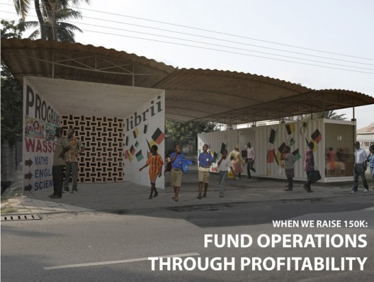 Kickstarter: New Model Library in Africa
