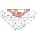 A. H. McCoy Federal Office / Schwartz-Silver Architects Floor Plan