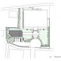 Forest Chapel / Hironaka Ogawa & Associates Site Plan