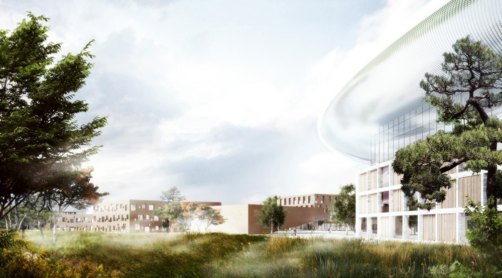 European Spallation Source (ESS) / Henning Larsen Architects + COBE + SLA