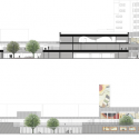 Groupe Scolaire Pasteur / R2K Architectes Section and Elevation