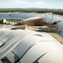 Tanmen Oceanic Fishing Cultural Center and Museum Proposal / Office for Architectural Culture fishermen culture museum and vessel museum