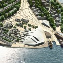 Tanmen Oceanic Fishing Cultural Center and Museum Proposal / Office for Architectural Culture main cultural museum zone