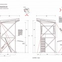 Tower of Colony Installation / Groundwork elevations