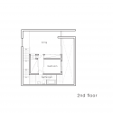 House-T / Tsukano Architect Office Second Floor Plan