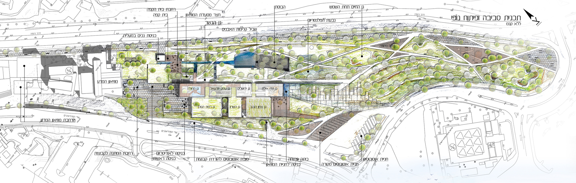 Architecture photography museum of nature and science - Site plan architecture ...
