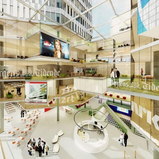 Media City Bergen (MCB) Winning Proposal / MAD Architects