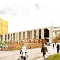 Speirs Locks Student Campus Proposal / Stallan-Brand view from SawmillField Street