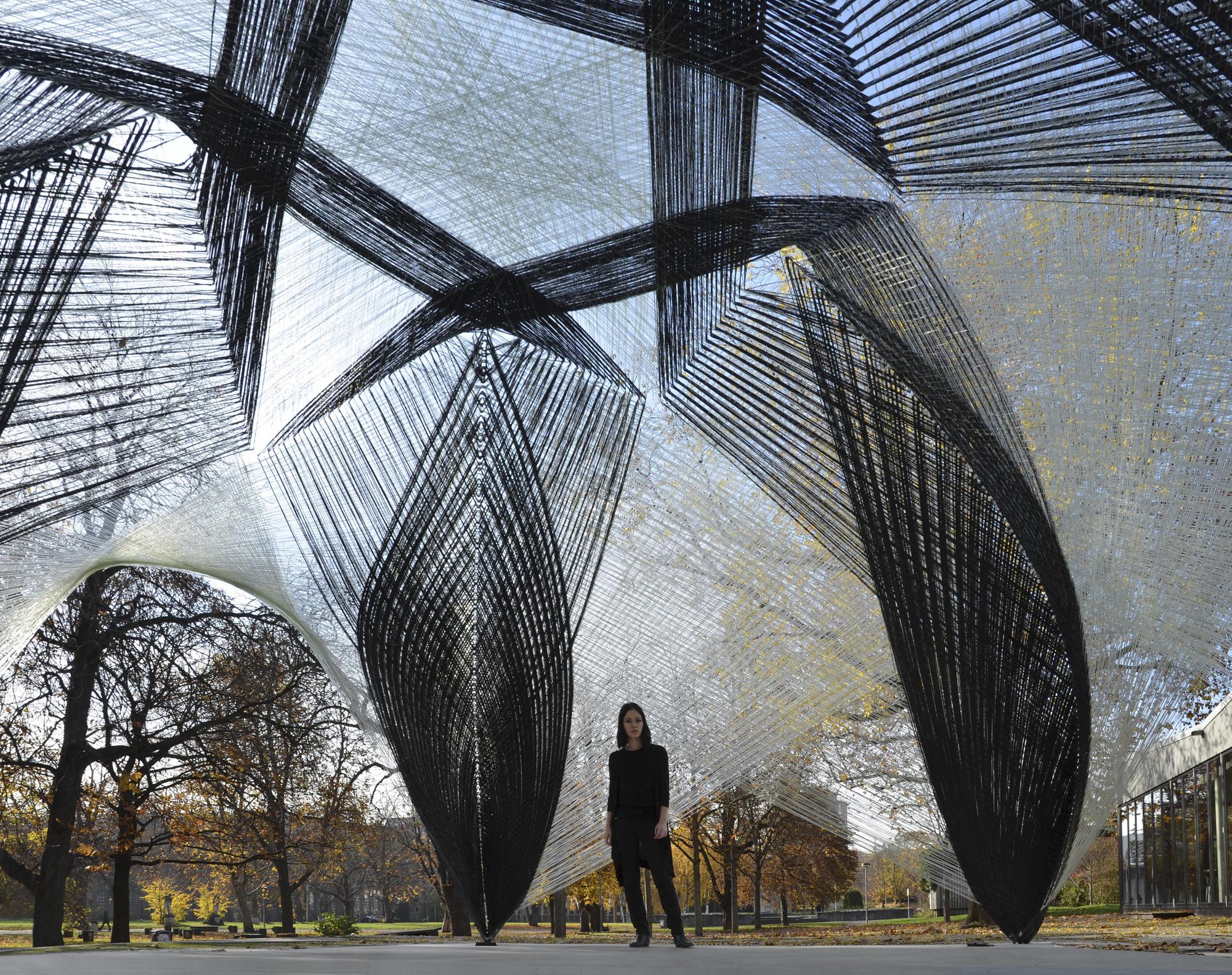Architects Stuttgart icd itke research pavilion 2012 stuttgart germany aeworldmap