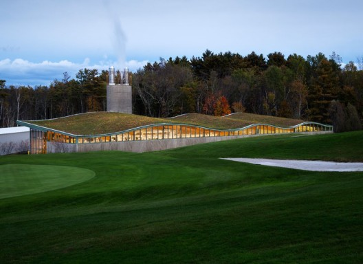 Hotchkiss Biomass Power Plant / Centerbrook Architects and Planners © David Sundberg/Esto