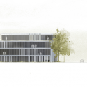 Asfinag Office Building / Peter Lorenz Ateliers North Elevation
