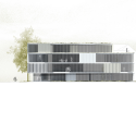 Asfinag Office Building / Peter Lorenz Ateliers South Elevation