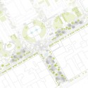 Re-Think Athens Competition Entry  / ABM Arquitectos Trilogy Korai Square plan