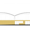 N10-Eiras Sports Facility / Comoco Elevation