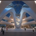 Changsha Meixihu International Culture and Art Centre / Zaha Hadid Architects Courtesy of Zaha Hadid Architects