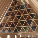 Shigeru Ban's Cardboard Cathedral Underway in New Zealand Courtesy of Shigeru Ban Architects