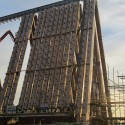 Shigeru Ban's Cardboard Cathedral Underway in New Zealand Courtesy of Christchurch City Libraries' Flickr