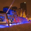 Iceberg / ATOMIC3 Courtesy of Martine Doyon, Montreal Quartier des Spectacles Partnership