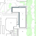 Earth Sciences Building  / Perkins + Will Site Plan