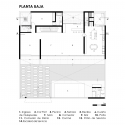 LF House / Itara Arquitectos Ground Floor Plan