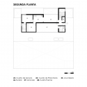 LF House / Itara Arquitectos Second Floor Plan
