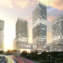 New Istanbul International Financial Center Master Plan / HOK Courtesy of HOK