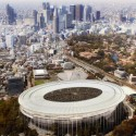 'The Twist': Tokyo Olympic Stadium Competition Entry / MenoMenoPiu Architects + FHF Architectes Courtesy of MenoMenoPiu Architects + FHF Architectes
