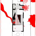 Ruin Academy  / Marco Casagrande 5th floor Plan (Sauna)