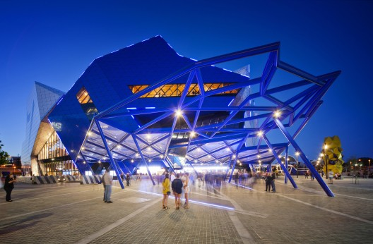 Perth Arena / ARM Architecture + CCN © Greg Hocking
