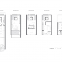 Urban townhouse gluck archdaily for Urban townhouse floor plans