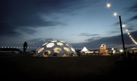 Roskilde dome 2012 kristoffer tejlgaard arquitectura - The geodesic dome in connecticut call of earth ...
