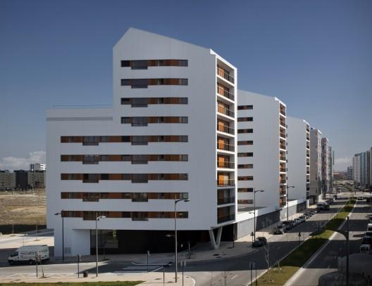 New group of council flats in vitoria gasteiz acxt - Arquitectos vitoria ...