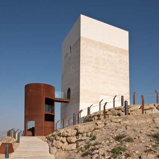 Tower restoration in huercal overa castillo miras - Arquitectos almeria ...