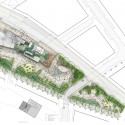 Green Square Library Competition Entry / ASPECT Studios site plan