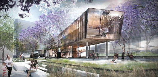 Green square library competition entry john wardle for Aspect landscape architects