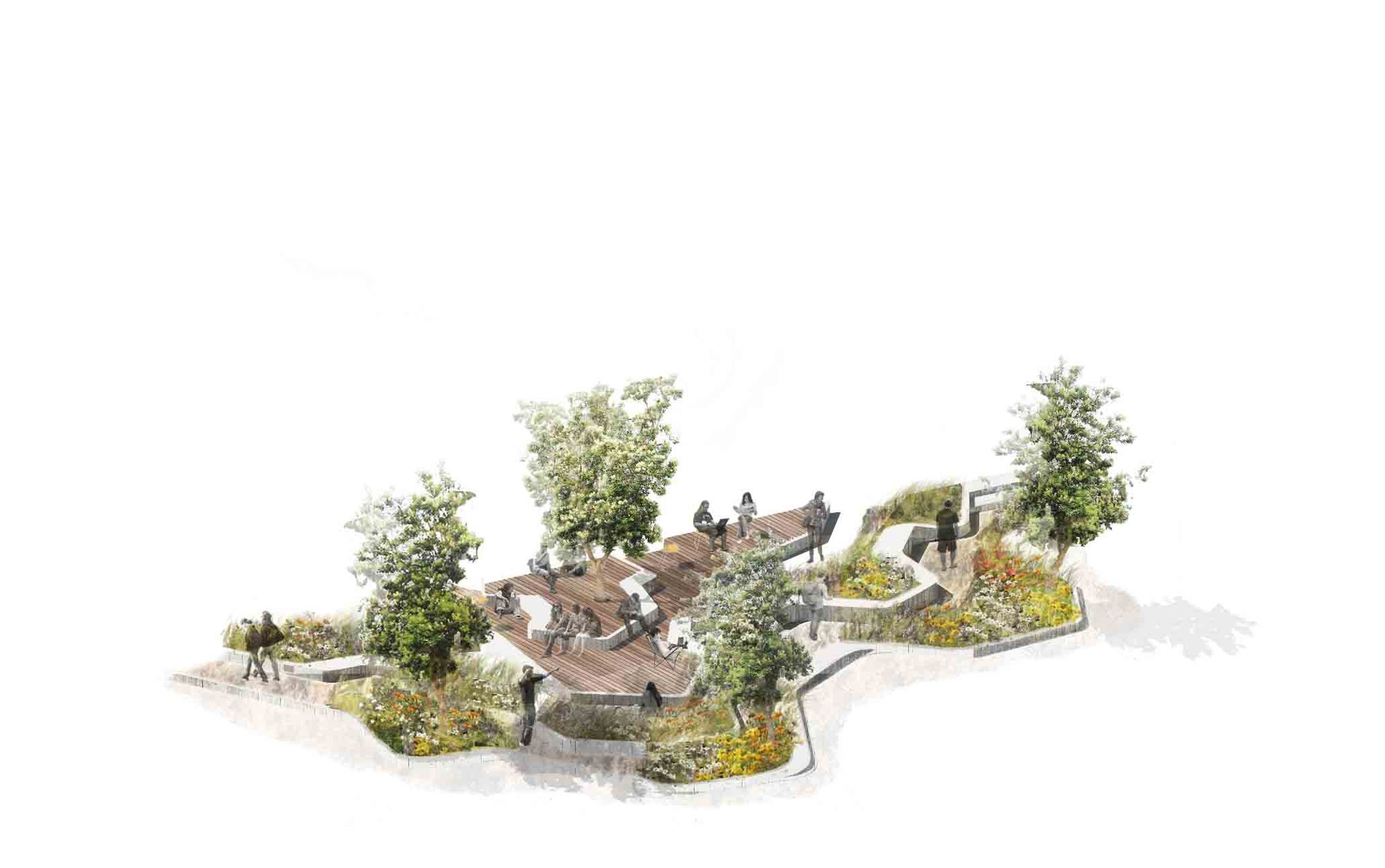 La aspect studios on pinterest hill garden sydney and for Aspect studios