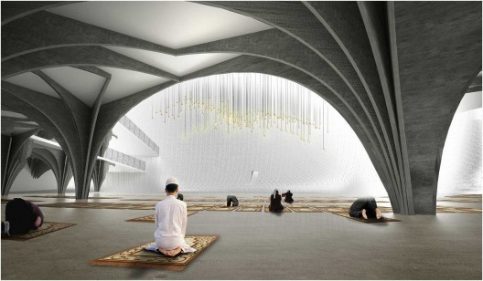 Central Mosque Of Pristina Competition Entry Aptum