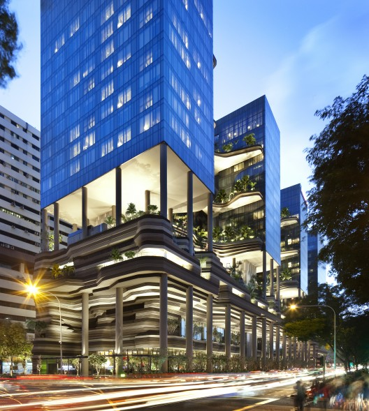 Parkroyal on pickering woha archdaily for Sky design hotel