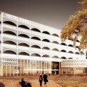 Hotel Park and Seeallee Heiden Competition Entry / Kubota & Bachmann Architects + Martinez Courtesy of Kubota & Bachmann Architects + Martinez
