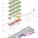 Hotel Park and Seeallee Heiden Competition Entry / Kubota & Bachmann Architects + Martinez axonometric diagram