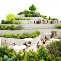 Sanya Lake Park Super Market propuesta / NL Architects Cortesía de NL Architects