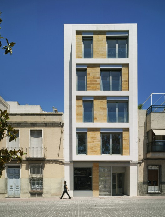 Xavier ozores archives for Fachada apartamentos pequenos