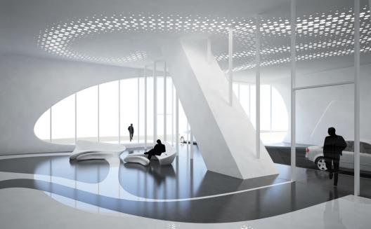 برج زاها حدید ، برج موزه هزاره
