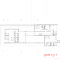 Casa Techos / Mathias Klotz Plan