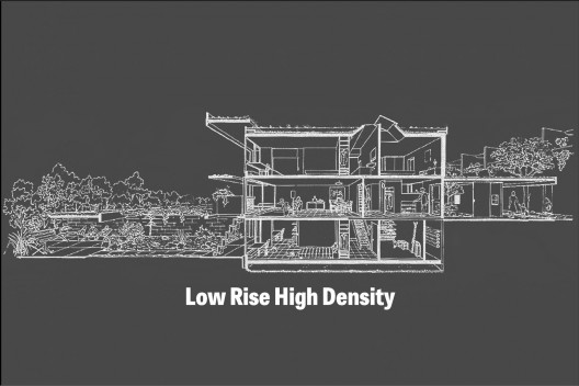 low rise high density exhibition archdaily