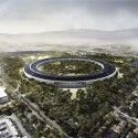 Updated Plans Released for Foster + Partners' Apple Campus in Cupertino © Foster + Partners, ARUP, Kier + Wright, Apple