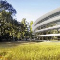 Updated Plans Released for Foster + Partners&#039; Apple Campus in Cupertino  Foster + Partners, ARUP, Kier + Wright, Apple